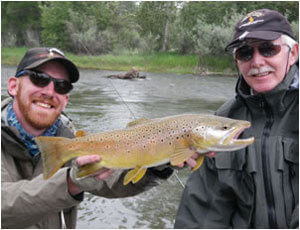 Missoula River Lodge guide Evan Phillippe.