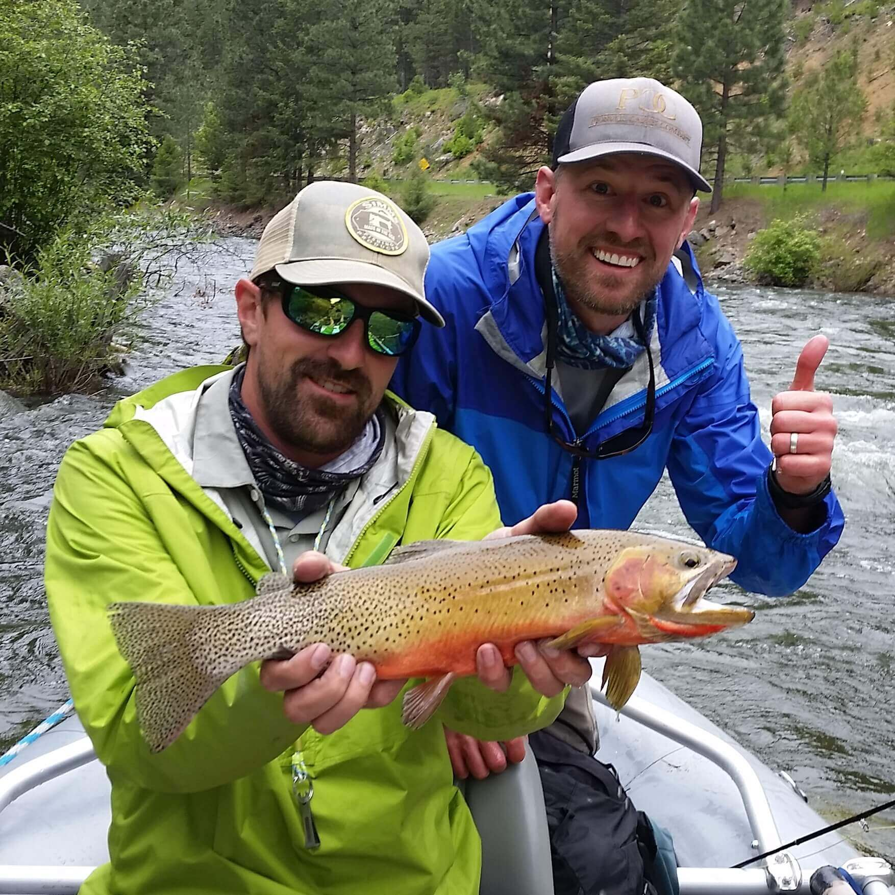 Missoula River Lodge guide Aaron Bonsall.