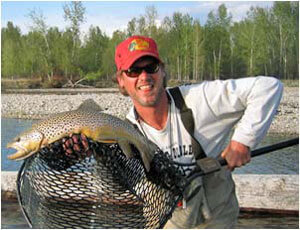 Missoula River Lodge guide Ryan Geiges.